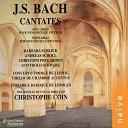 Concerto Vocale de Leipzig Ensemble Baroque de Limoges Gotthold Schwarz Christophe Coin - Sie werden euch in den Bann tun BWV 183 IV H chster Tr ster Heilger Geist