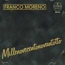 Franco Moreno - Si me manche tu