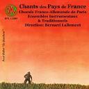 Bernard Lallement Chorale Franco Allemande de Paris - Pierre de Grenoble