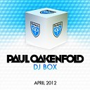 DJ Box April 2012