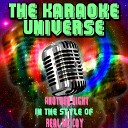 The Karaoke Universe - Another Night Karaoke Version In the Style of Real Mc Coy