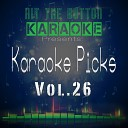 Hit The Button Karaoke - I Feel It Coming Originally Performed by the Weeknd Ft Daft Punk Karaoke Version