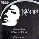 Kaliopi - Черное белое