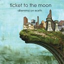 Ticket To The Moon - A Black White Picture of a Rainbow