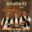 Handk s mit Orange - Am See is schee