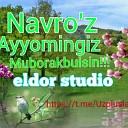 Dilnoza Akbarova Uzpluslar - Navro z keldi OR music eldor studio