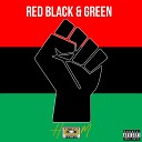 Heem - Red Black and Green