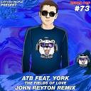 ATB feat York - The Fields OF Love John Reyton Remix Radio Edit