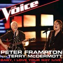 Peter Frampton, Terry McDermott - Baby, I Love Your Way - Live (The Voice Performance)