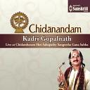 Kadri Gopalnath - Kurai Ondrum Ragamalika Adi Live