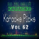 Hit The Button Karaoke - In My Mind Originally Performed by Dynoro Gigi D agostino Karaoke Version