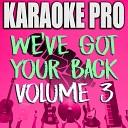 Karaoke Pro - I'll Never Love Again (Extended Version) (Originally Performed by Lady Gaga) (Instrumental Version)