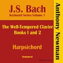 Anthony Newman - Well Tempered Clavier Book II Prelude and Fugue in E Major BWV 878