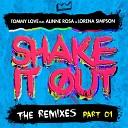 DJ Tommy Love feat Alinne Rosa Lorena Simpson - Shake It Out Las Bibas From Vizcaya Club Remix