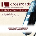 Crossroads Performance Tracks - Performance Track High without Background Vocals in Bb