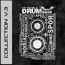 X - Bass For Her P J D Remix New Drum s 10 охеренный drum and bass