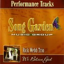 Rick Webb Trio - I Know Where You Are Performance Track Performance Track