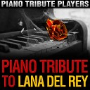 Piano Tribute Players - Born to Die