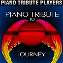 Piano Players Tribute - Lights
