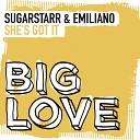Sugarstarr Emiliano BR - She s Got It Original Mix