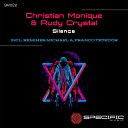 Christian Monique Rudy Crystal - Silence Franco Tejedor Remix