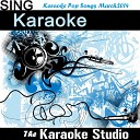The Karaoke Studio - Best Day of My Life In the Style of American Authors Karaoke Version