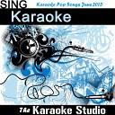 The Karaoke Studio - Mirrors In the Style of Justin Timberlake Karaoke Version
