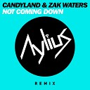 Candyland Zak Waters - Not Coming Down Aylius Remix