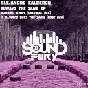 Alejandro Calderon - Running Away Original Mix