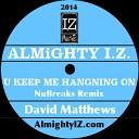 David Matthews - U Keep Me Hanging On ALMiGHTY I Z B Boy NuBreaks REMIX
