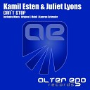 Alter Ego Records - AE195 Kamil Esten Juliet Lyons Can t Stop Mobil Remix