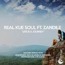 Real Kue Soul Feat Zandile - Life Is A Journey Who De Warrior Afro Tech Dub