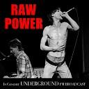 Iggy Pop with David Bowie - Raw Power Live