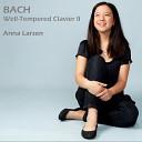 Anna Larsen - Well Tempered Clavier Book 2 Prelude No 9 in E Major BWV 878