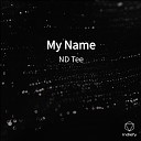 ND Tee - My Name