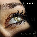 Article 19 - Bringin Down the House
