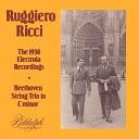 Ruggiero Ricci Joseph DePasquale Giorgio Ricci - String Trio in C Minor 0p 9 No 3 III Scherzo Allegro molto e vivace