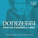 Alberto Baldrighi Anne Colette Ricciardi - Sonata for Piano Four Hands in F Major A 571 Suonata a 4 sanfe I Larghetto Allegro brillante