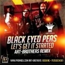 Black Eyed Peas - Lets It Party Started Art Bro