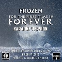 URock - For The First Time In Forever From Frozen Karaoke Version