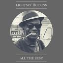 Lightnin Hopkins - Reminiscences of Blind Lemon