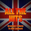 All The Hits Greatest Tribute To Def Leppard