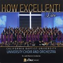 CBU Choir and Orchestra - All That Hath Life and Breath Praise Ye the Lord Live