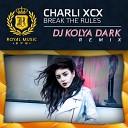 Radio Record - Charli XCX DJ Kolya Dark Break The Rules