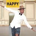 Pharrell Williams - Happy DnB Bootleg Radio Record recordchelny