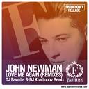 John Newman - Love Me Again DJ Favorite DJ Kharitonov Remix