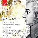 Моцарт - Концерт для двух фортепиано с оркестром ми бемоль мажор Rondo allegro