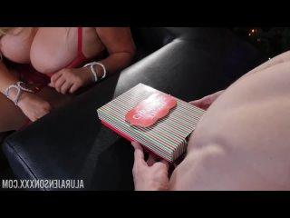 [HD 1080] Alura Jenson, Karen Fisher - Alura Jenson in My Big Xmas Present! (2017) - порно/секс/домашнее