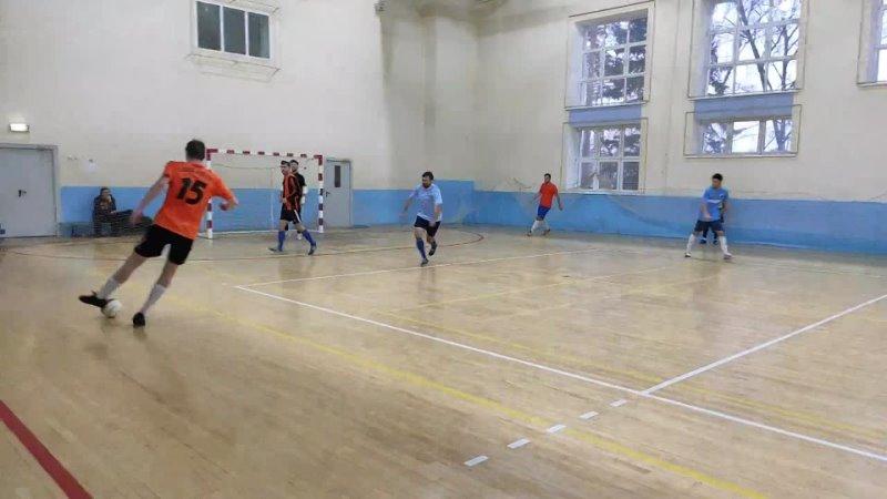 Мини футбол Высшая лига СМИТ Ураган Боевое Братство
