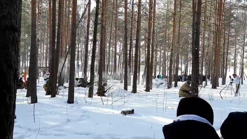 III горнозаводской слёт членов ВДЮВПОД Юнармия